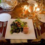 salad course weddings